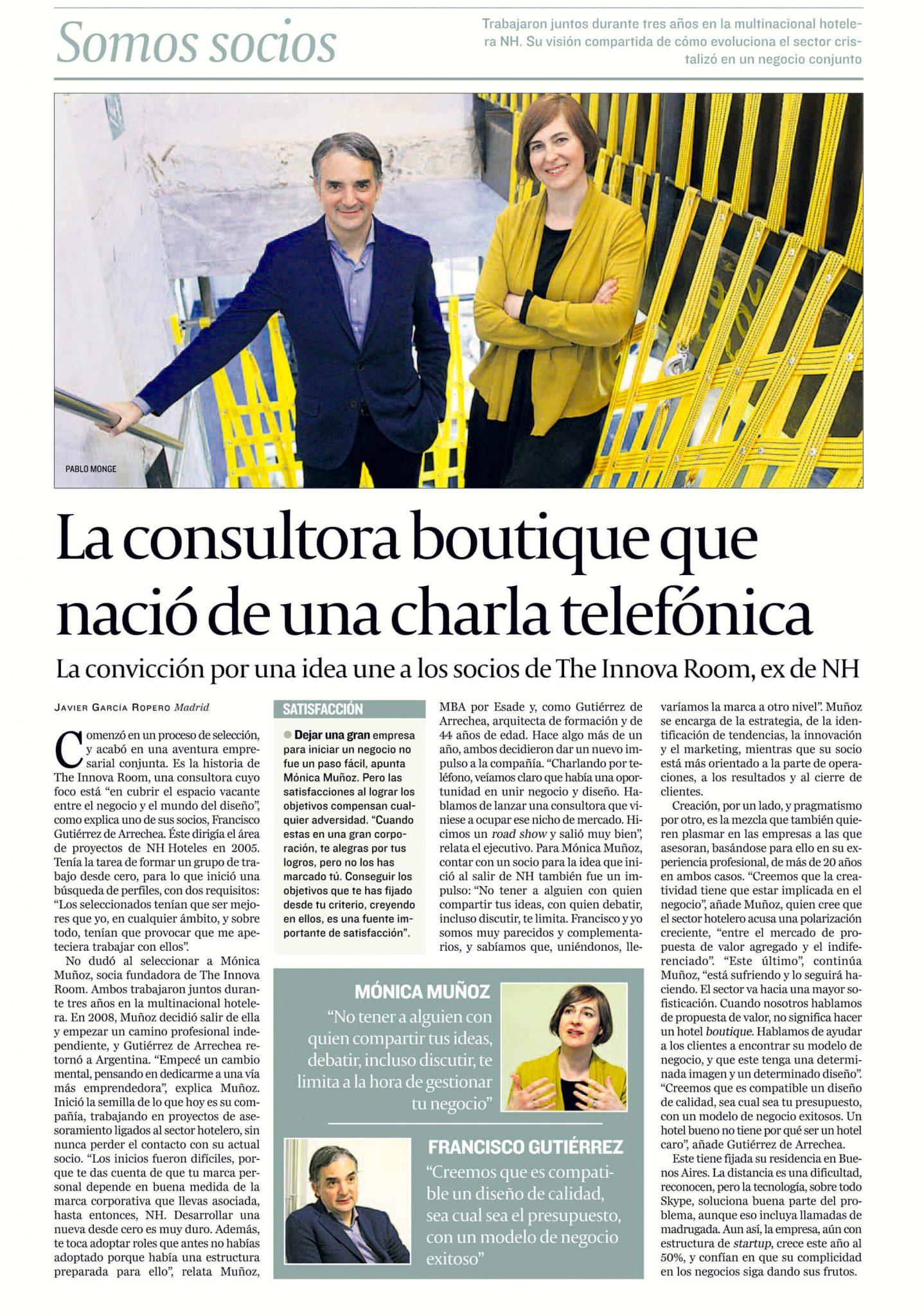 20160722_La consultora boutique que nació de una charla telefónica_CINCO DÍAS
