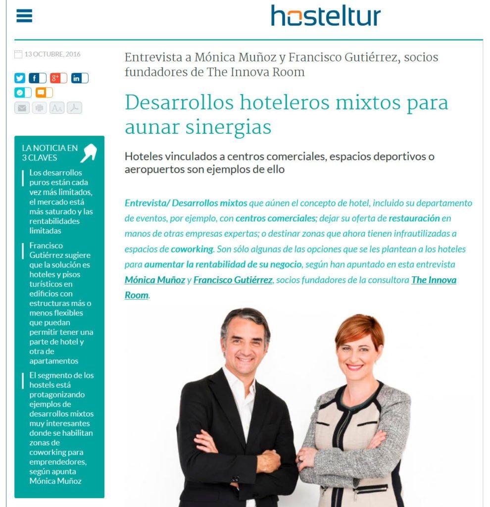 20161013_Desarrollos hoteleros mixtos para aunar sinergias_HOSTELTUR