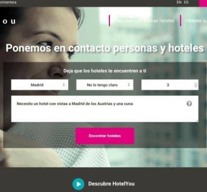 HotelYou: el buscador de hoteles casi humano