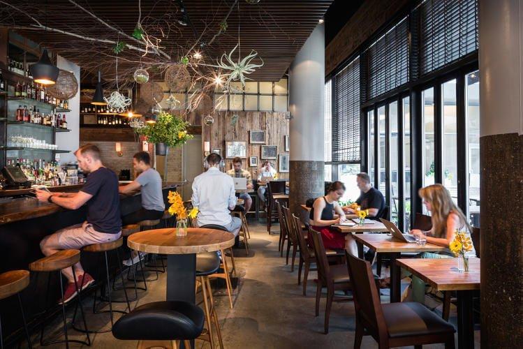 Coworking en restaurantes: Spacious
