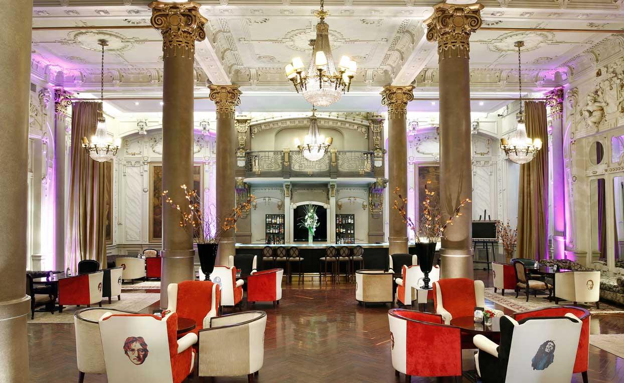 Diseño hotelero del estudio Caparra Entelman