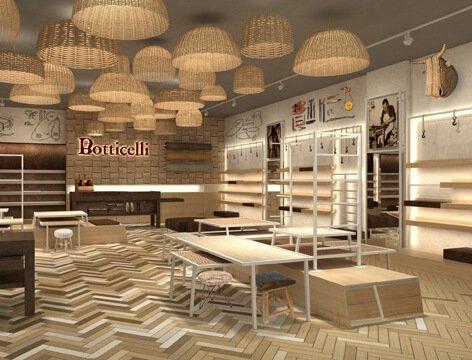 Concepto de imagen tiendas Botticelli