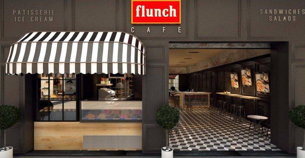"""Gestión de Diseño para rebranding de concepto """"Flunch Café"""" de Heineken, y su adaptación a formato calle. Análisis de inversiones y expansión, y creación del libro de franquicia."""