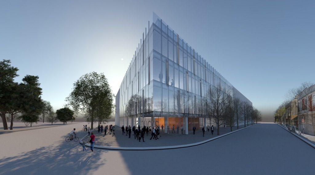 Desarrollo edificio oficinas en Distrito Tecnológico Parque Patricios Uspallata
